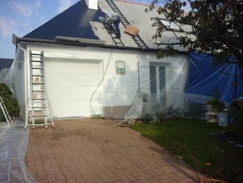 entreprise entretien toiture : nettoyage toiture et démoussage